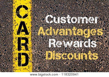 Business Acronym Card