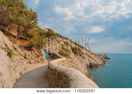 Couple On Footpath