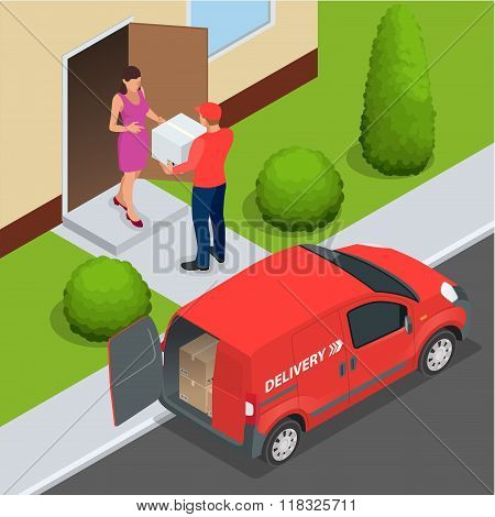 Free delivery, Fast delivery, Home delivery, Free shipping, 24 hour delivery, Delivery Concept, Expr