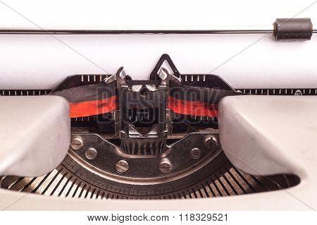Details On Antique Typewriter