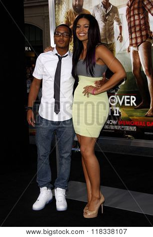 Romeo Miller and Jordin Sparks at the Los Angeles premiere of 'The Hangover Part II' held at the Grauman's Chinese Theatre in Hollywood, USA on May 19, 2011.
