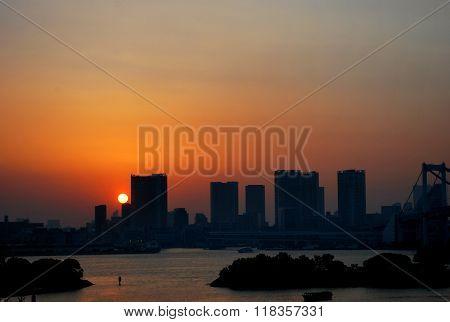 Tokyo Bay Sunset