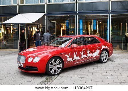 Bentley Car On A Street