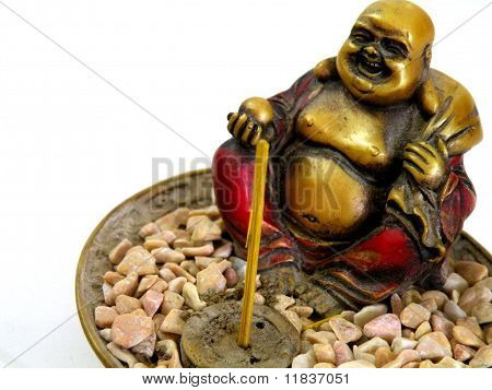 A Statuette Of The Buddha