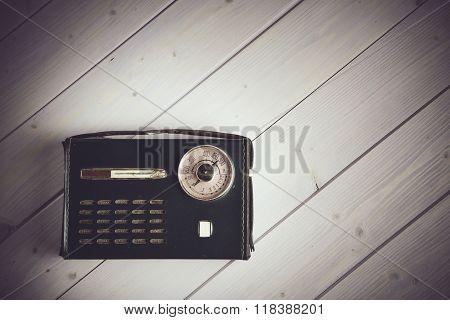 Old Italian Style Vintage Radio