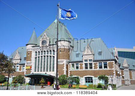 Gare du Palais, Quebec City Train Station, Canada