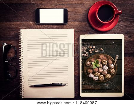 Office And Blog Concept