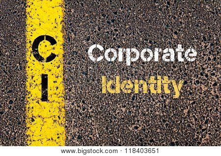 Business Acronym Ci Corporate Identity