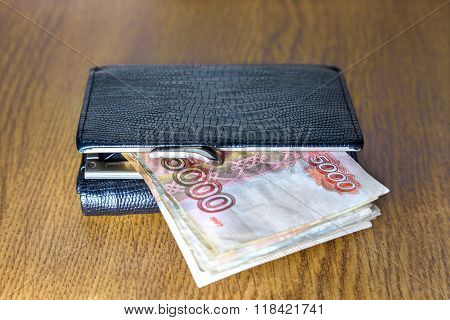 Wallet And Cash