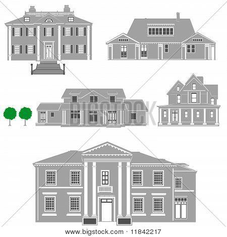 Residenzen-Vektor