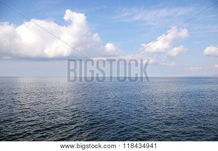 Seascape - Sea horizon