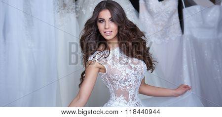 Beautiful Bride Posing.