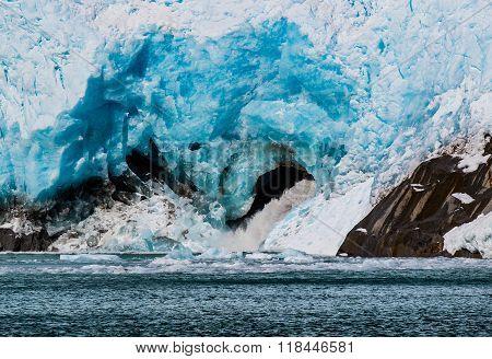 Northwestern Glacier Melting