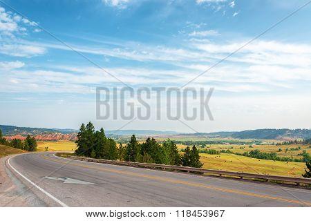 Highway And Landscape