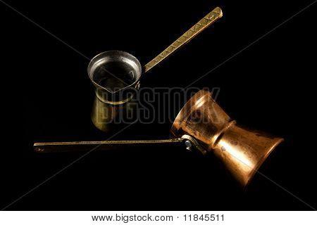 Traditional Coffee Pots