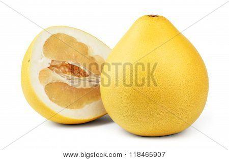 Ripe pomelo fruit