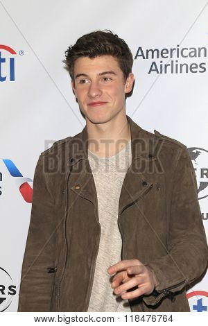 LOS ANGELES - FEB 15:  Shawn Mendes at the Universal Music Group's 2016 Grammy After Party at the Ace Hotel on February 15, 2016 in Los Angeles, CA
