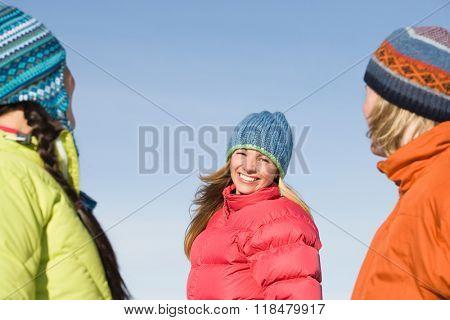 Portrait of friends