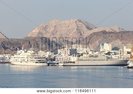Port Of Muscat, Oman