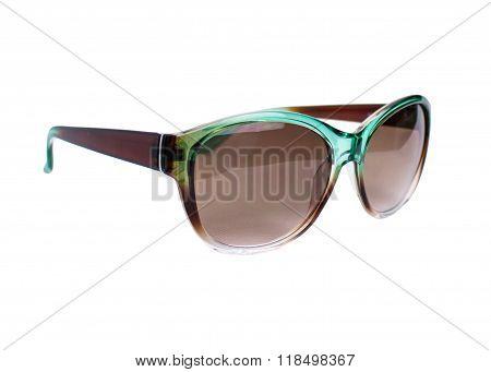 Womenes Green Sunglasses