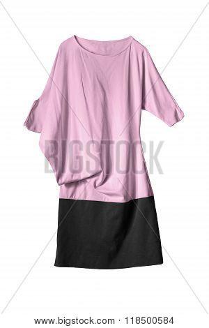 Asymmetric Dress Isolated