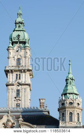 Gyor City Hall Towers