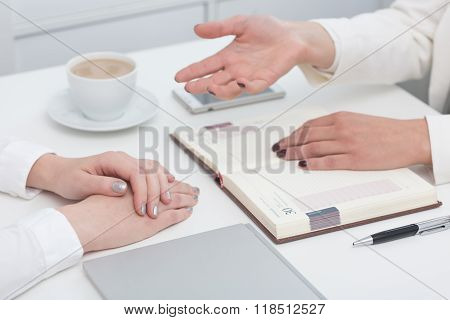 Business Meeting With Client