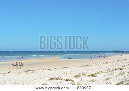 Henley Beach, South Australia.
