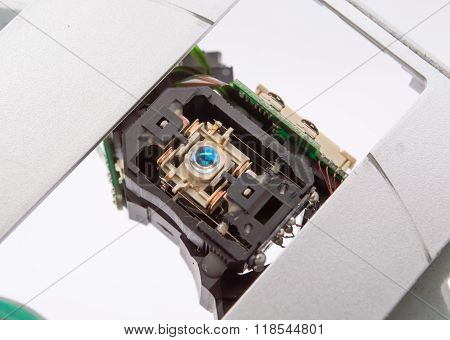 Scratch DVD CD ROM Laser Head