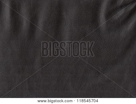 Black leather texture. High res. scan