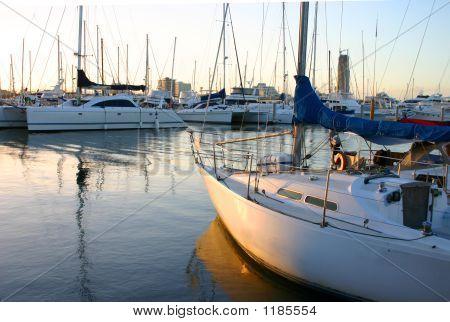 Yacht Parking Lot