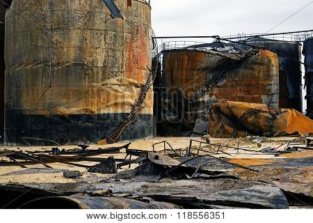 Ruin After The Fire