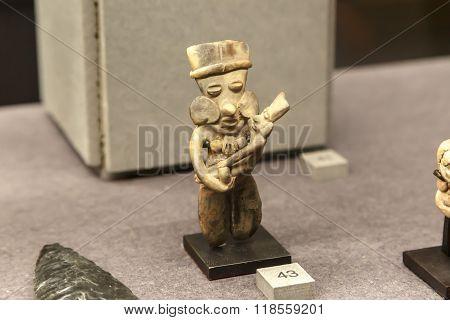 Olmec Figurine View