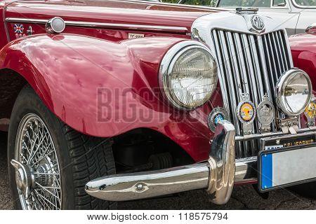 Mg Retro Vintage Car