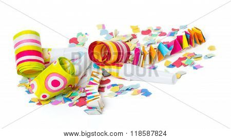 Isolated, Decoration, White, Confetti, Coupon, Colorful, Ticket, Invitation, Carnival, Background, P