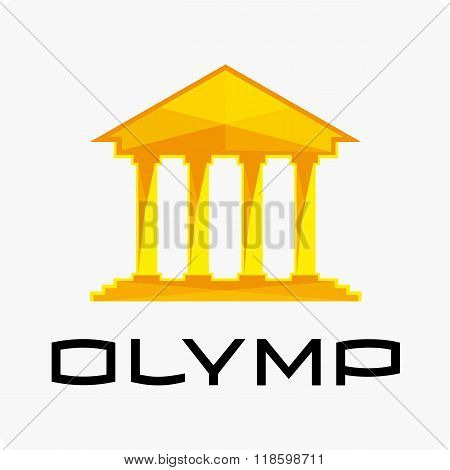 Olympus logo template.