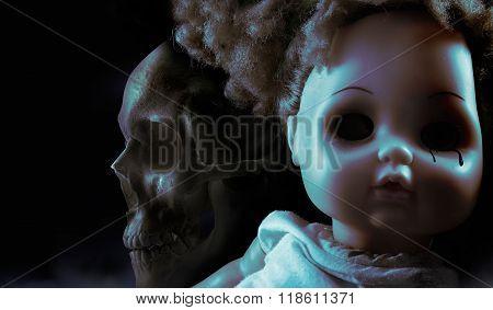 Ghost mystic doll.