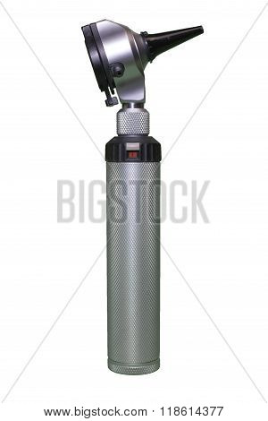 Otoscope with clipping path