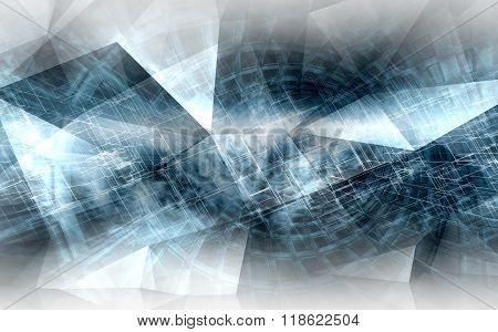 Abstract Digital Background, High-tech Cg Concept