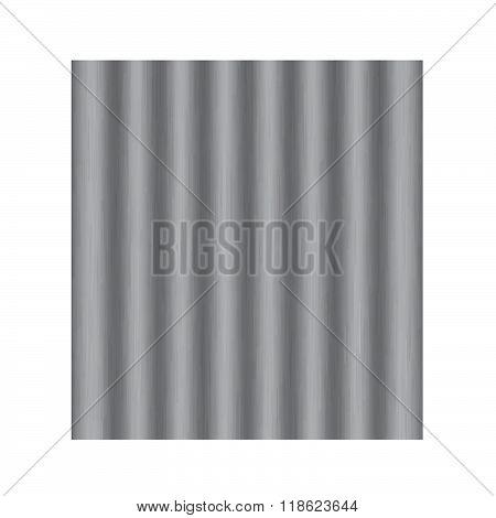 Asbestos roof vector