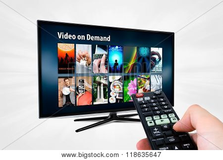Video On Demand Vod Service On Smart Tv