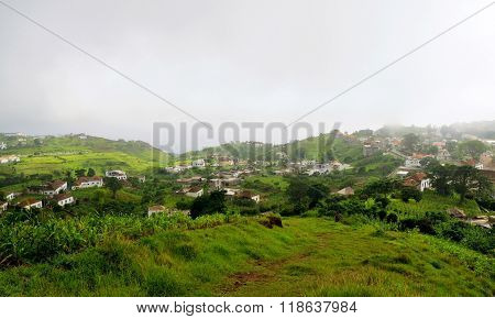 Island Of Brava And The City Of Nova Sintra