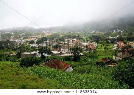 The Historic City Of Nova Sintra In The Island Of Brava