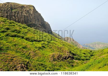 Rock Exposed Mountain Top
