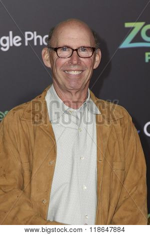 LOS ANGELES - FEB 17:  Don Lake at the Zootopia Premiere at the El Capitan Theater on February 17, 2016 in Los Angeles, CA