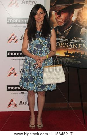 LOS ANGELES - FEB 16:  Avital Ash at the Forsaken Los Angeles Special Screening at the Autry Museum of the American West on February 16, 2016 in Los Angeles, CA