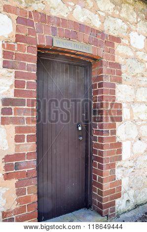 Wash House Entrance: Azelia Ley Homestead