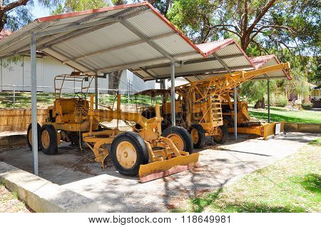 Farm Machinery: Azelia Ley Homestead