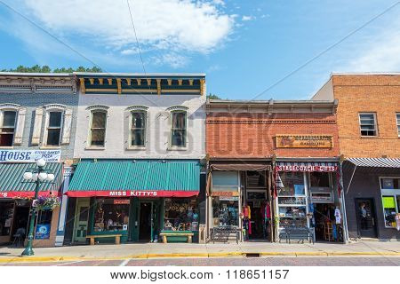 Historic Downtown Deadwood