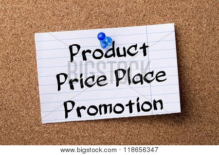 Product Price Place Promotion - Teared Note Paper Pinned On Bulletin Board